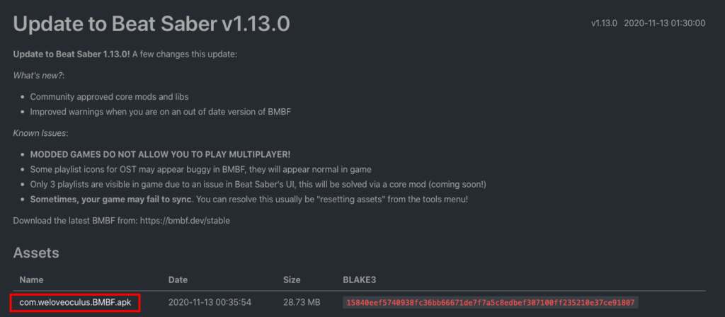 BMBF 1.13.0