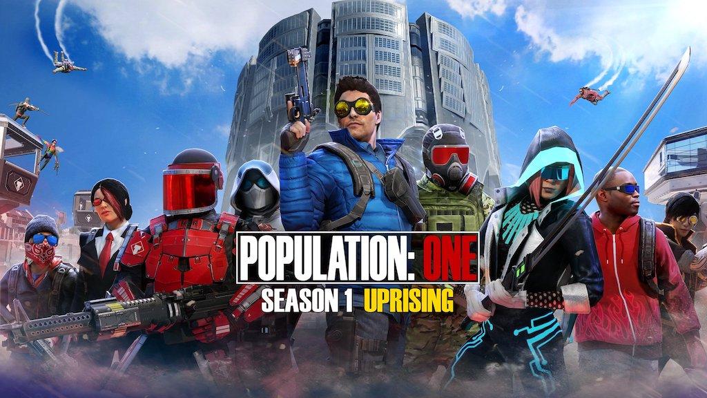 【POPULATION:ONE】2月25日「シーズン1」開幕!最新情報まとめ(新要素や変更点)